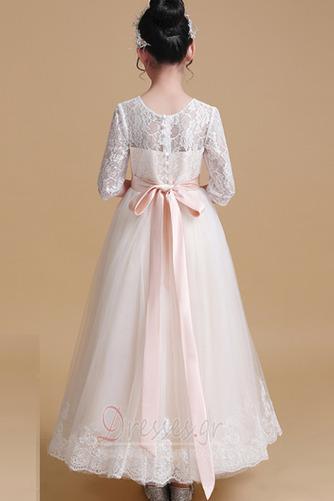 ... Τονισμένα τόξο Φυσικό Δαντέλα επικάλυψης Λουλούδι κορίτσι φορέματα -  Σελίδα 2 ... b6929626820