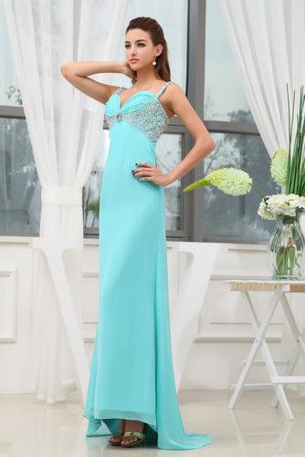 εξώπλατο Πολυτελές Πλισέ Αμάνικο Ευρεία λουριά Βραδινά φορέματα - Σελίδα 1