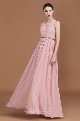 Φθινόπωρο Αμάνικο Διακοσμημένες με χάντρες ζώνη Παράνυμφος φορέματα - Σελίδα 3