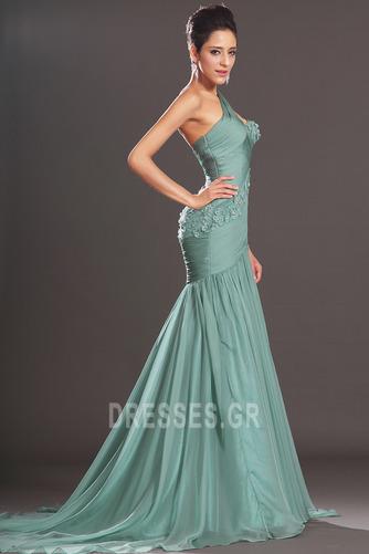 Φθινόπωρο πιέτα δραματική Τονισμένα ροζέτα Βραδινά φορέματα - Σελίδα 5