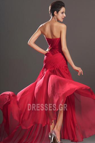 Κόσμημα τονισμένο μπούστο Θήκη Σιφόν Αμάνικο Μπάλα φορέματα - Σελίδα 6