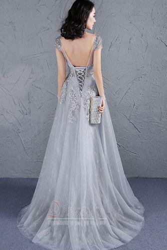 Φυσικό Προσαρμοσμένες μανίκια Δαντέλα-επάνω Μπάλα φορέματα - Σελίδα 2