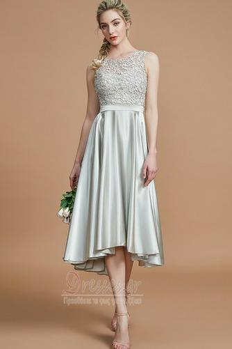 Φερμουάρ επάνω Φυσικό Μέχρι το Γόνατο Ασύμμετρη Παράνυμφος φορέματα - Σελίδα 1