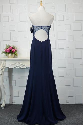 Φυσικό Ρομαντικό Θήκη Χάντρες Μακρύ εξώπλατο Βραδινά φορέματα - Σελίδα 10