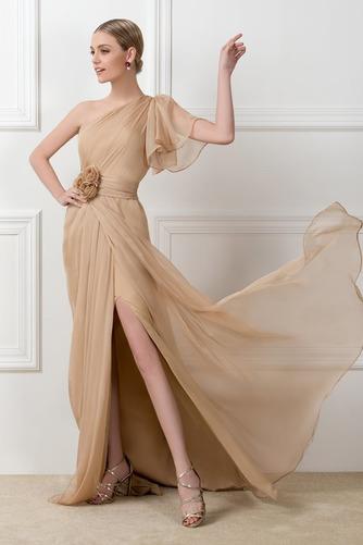 Ένας Ώμος Φυσικό Ασύμμετρα μανίκια Πολυτελές Βραδινά φορέματα - Σελίδα 1