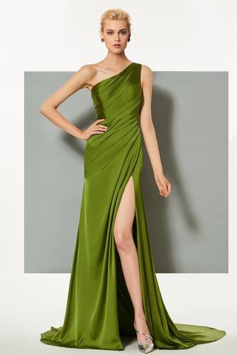 Πλισέ Τα μέσα πλάτη Αμάνικο Κομψό Φυσικό Βραδινά φορέματα - Σελίδα 1