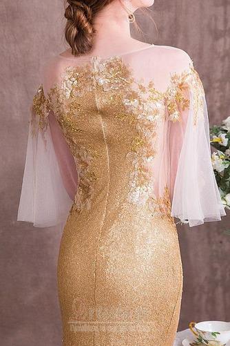 Χαλαρά μανίκια παγιέτες μπούστο Γραμμή Α Βραδινά φορέματα - Σελίδα 5