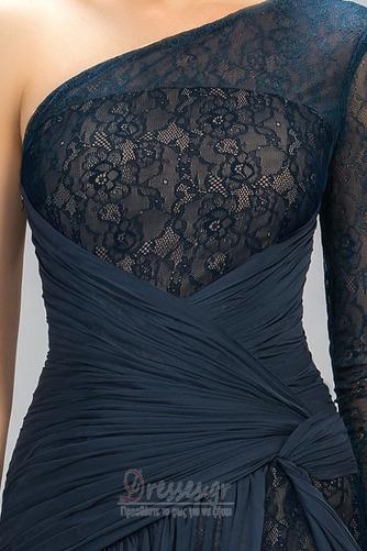 Ασύμμετρα μανίκια Δαντέλα Τα μέσα πλάτη Μακρύ Βραδινά φορέματα - Σελίδα 6