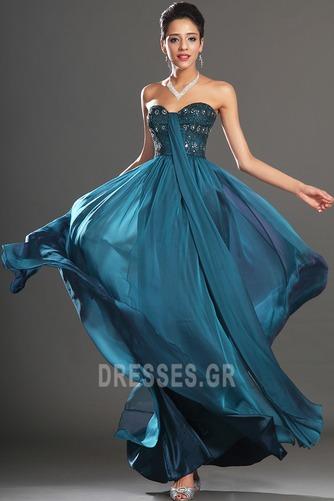 Αμάνικο αγαπημένος Μικροκαμωμένη Κόσμημα τονισμένο μπούστο Βραδινά φορέματα - Σελίδα 3