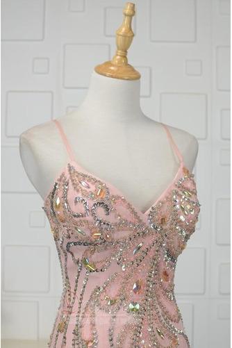 Φυσικό Κρυστάλλινη Μέχρι τον αστράγαλο Κόσμημα τονισμένο μπούστο Βραδινά φορέματα - Σελίδα 4