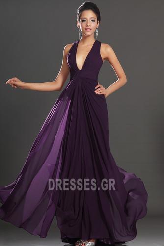 Αχλάδι Καλοκαίρι Πολυτελές Οι πτυχωμένες μπούστο Βραδινά φορέματα - Σελίδα 1