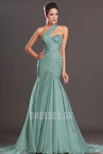 Φθινόπωρο πιέτα δραματική Τονισμένα ροζέτα Βραδινά φορέματα - Σελίδα 4