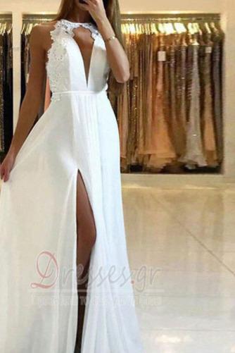 Δαντέλα Σιφόν Μακρύ Καλοκαίρι Μικρό εξώπλατο Μπάλα φορέματα - Σελίδα 3