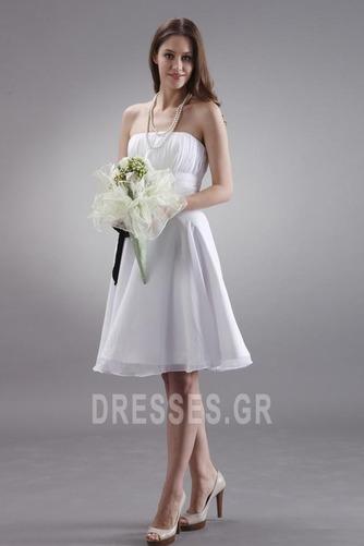Μέχρι το Γόνατο Μικροκαμωμένη Τα μέσα πλάτη Παράνυμφος φορέματα - Σελίδα 4