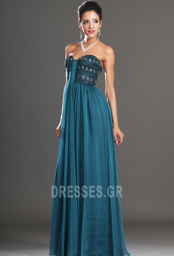 Αμάνικο αγαπημένος Μικροκαμωμένη Κόσμημα τονισμένο μπούστο Βραδινά φορέματα - Σελίδα 4