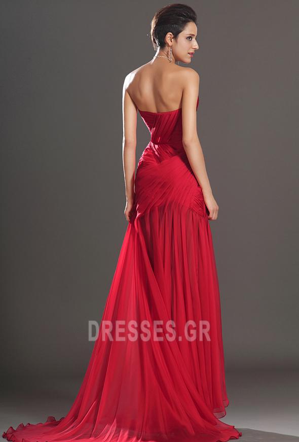 Κόσμημα τονισμένο μπούστο Θήκη Σιφόν Αμάνικο Μπάλα φορέματα - Σελίδα 7