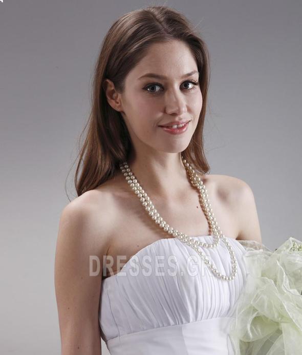 Μέχρι το Γόνατο Μικροκαμωμένη Τα μέσα πλάτη Παράνυμφος φορέματα - Σελίδα 8