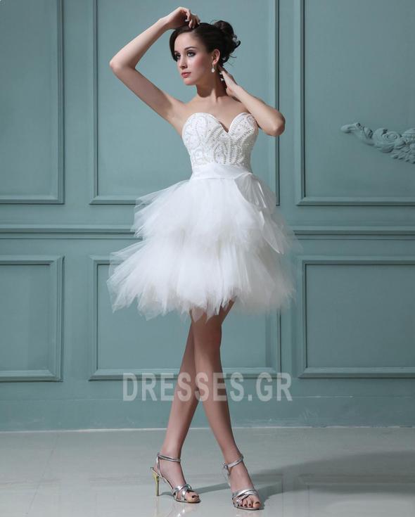αγαπημένος Φυσικό Αμάνικο Μαργαριτάρια Καλοκαίρι Μπάλα φορέματα - Σελίδα 3