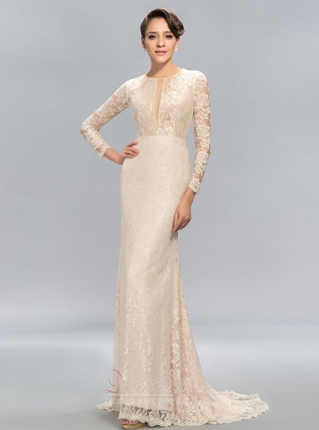 6bfb58b6a984 Δαντέλα επικάλυψης Ψευδαίσθηση Κόσμημα Πολυτελές Βραδινά φορέματα - Σελίδα  1 ...