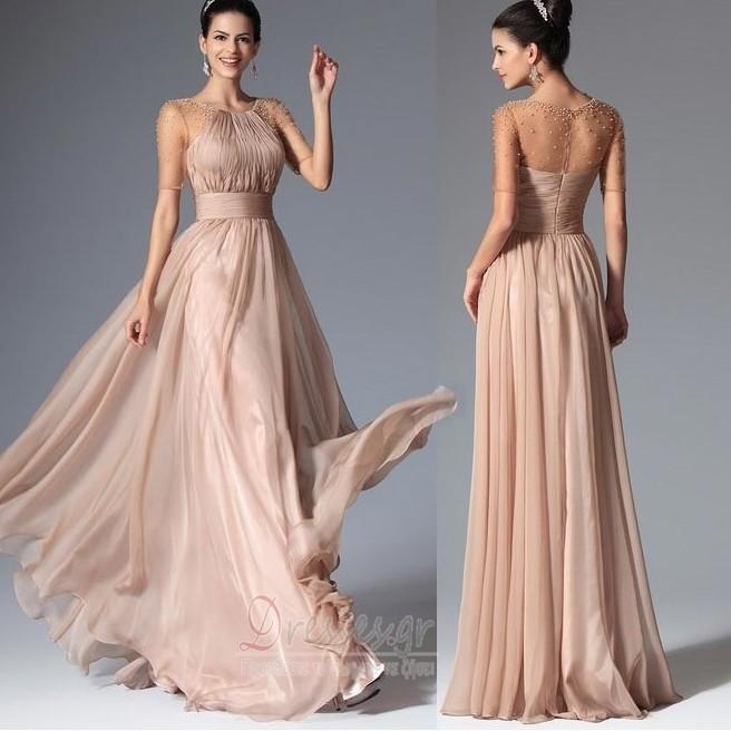 9f89733d7be Κόσμημα Φυσικό Οι πτυχωμένες μπούστο Πολυτελές Βραδινά φορέματα ...
