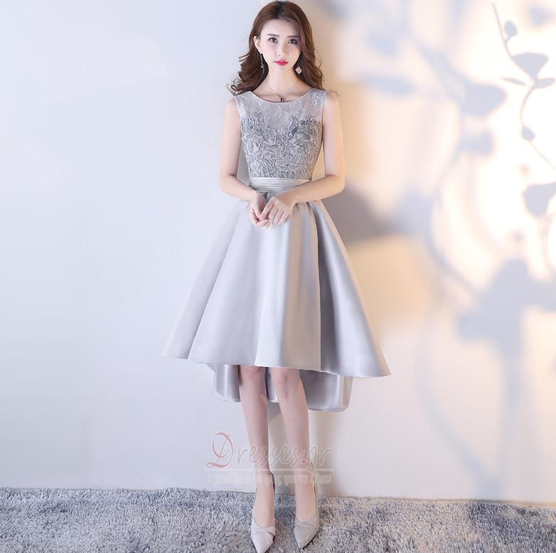 d21c8db3953 Δαντέλα Κόσμημα Ασύμμετρη Δαντέλα Φυσικό Κοκτέιλ φορέματα - Σελίδα 1 ...