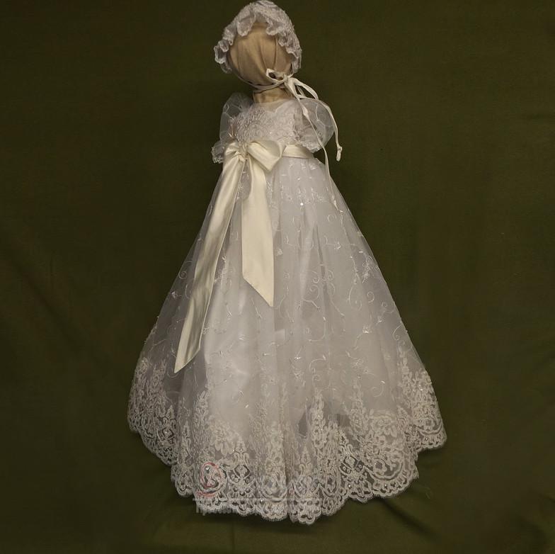 bdc22e5834c Κόσμημα Τούλι Πριγκίπισσα Μικρό Δαντέλα Άνοιξη Φόρεμα Βάπτισης ...