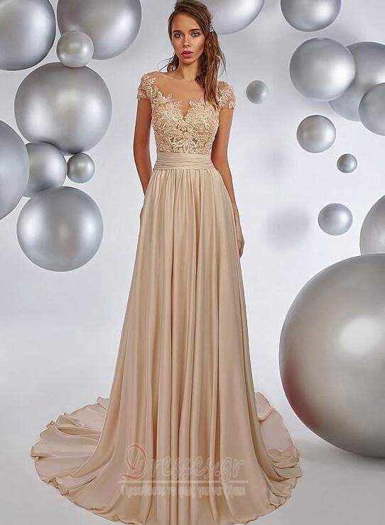 fc473a7b19ba Έτος 2020 Από τον ώμο Σιφόν Φυσικό σύγχρονος Μπάλα φορέματα - Σελίδα 1 ...