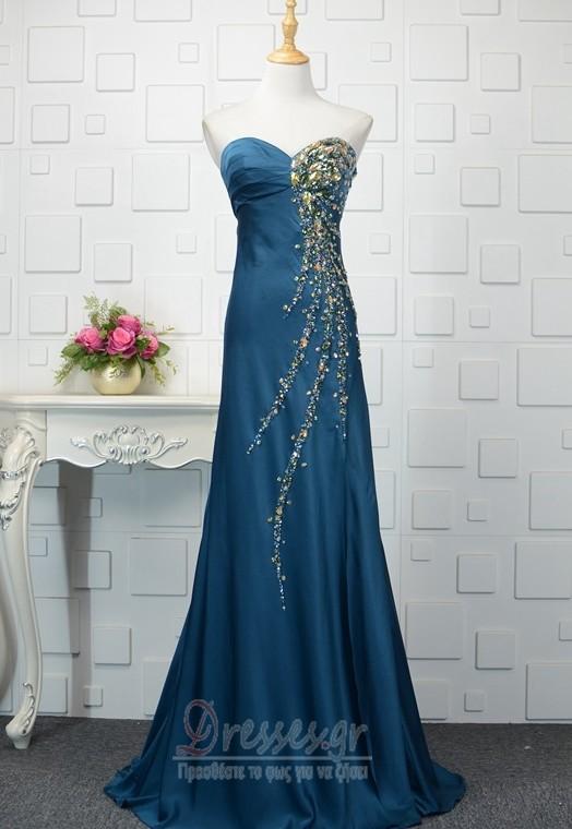 c3a69d8b1bc0 Κρυστάλλινη εξώπλατο αγαπημένος Λάμψη Αμάνικο Βραδινά φορέματα - Σελίδα 1  ...