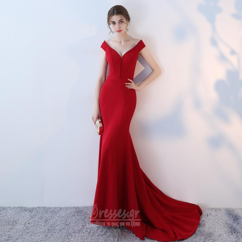 b331f3df1685 Γοργόνα Λαιμόκοψη V εξώπλατο Φυσικό Χάνει Βραδινά φορέματα - Σελίδα 1 ...