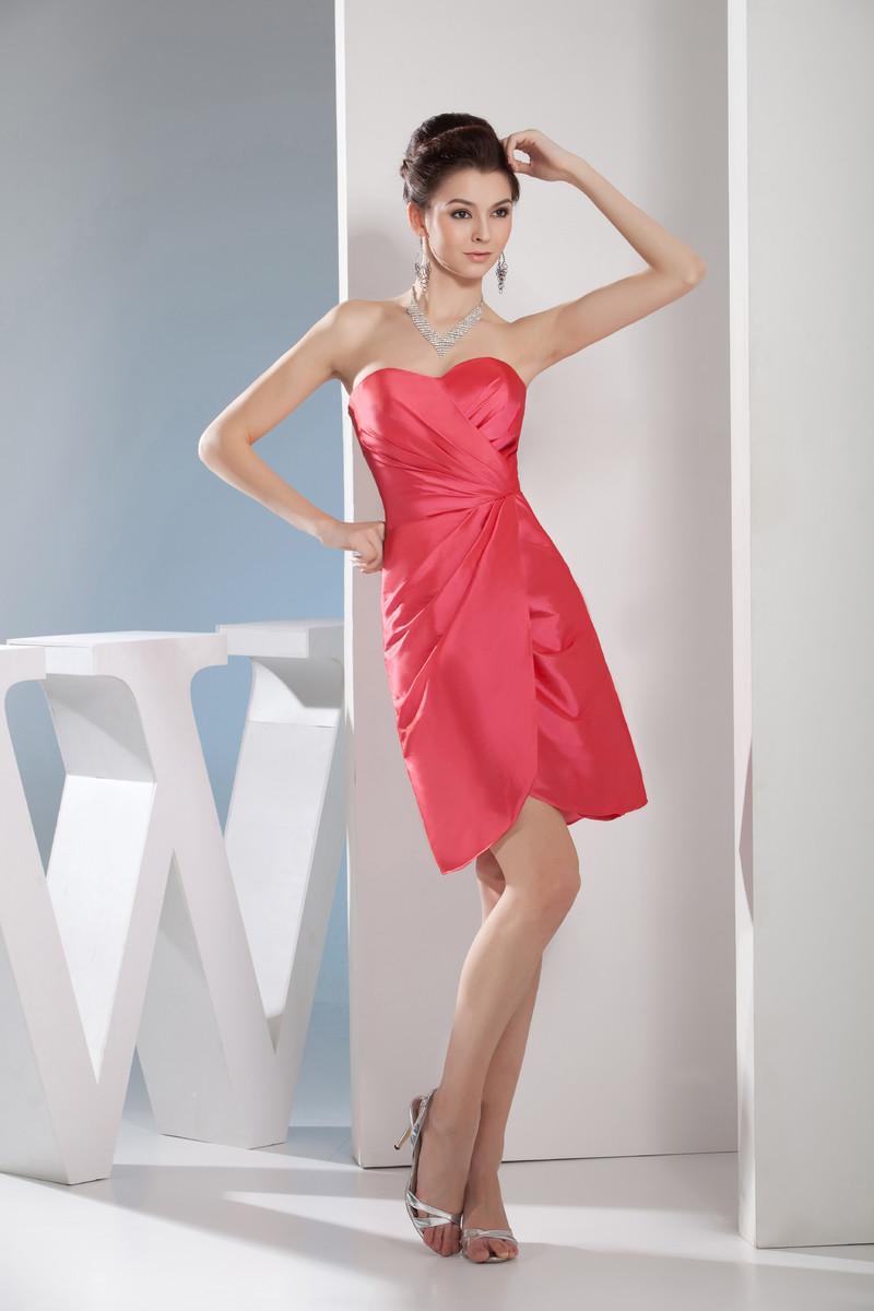 faa50614857 απλός Πλισέ Φερμουάρ επάνω Αμάνικο Θήκη Καλοκαίρι Κοκτέιλ φορέματα - Σελίδα  1 ...