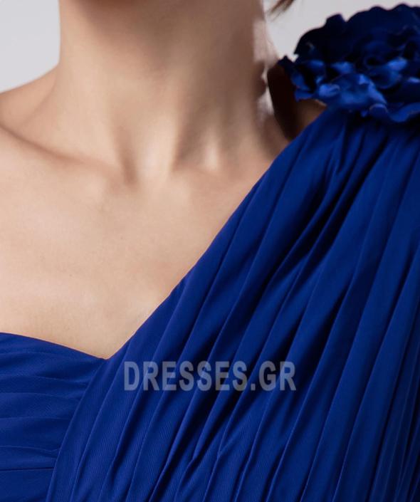 Οι πτυχωμένες μπούστο Σιφόν απλός Γραμμή Α Παράνυμφος φορέματα - Σελίδα 7