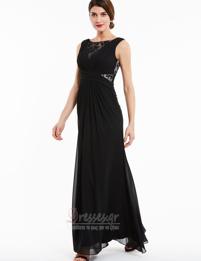 22d6636e571 Φυσικό Φερμουάρ επάνω Μήκος πατωμάτων Γραμμή Α Βραδινά φορέματα ...