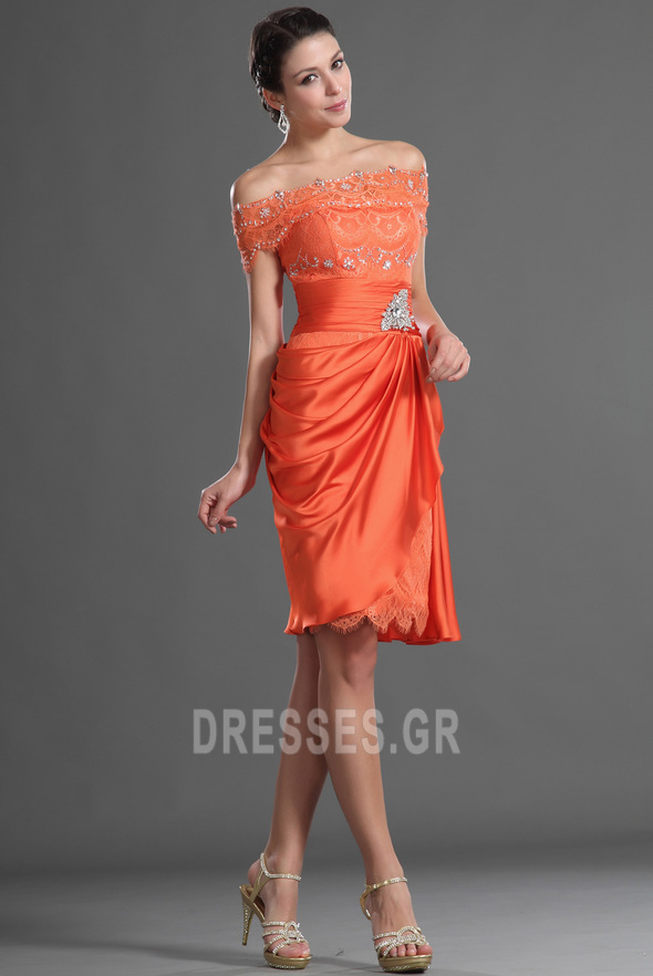 Μέχρι το Γόνατο Γραμμή Α Τα μέσα πλάτη Αποκλειστική Κοκτέιλ φορέματα - Σελίδα 5