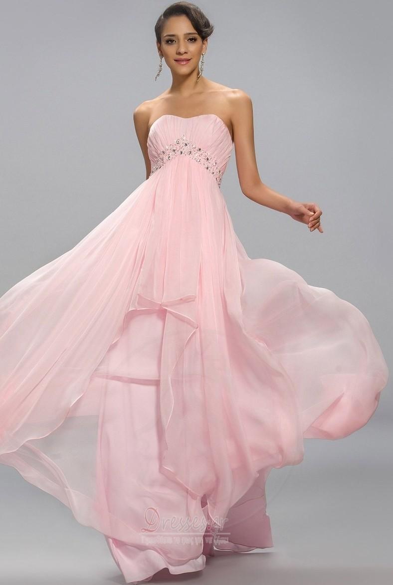 b54a660776da Στράπλες Κομψό Διακοσμημένες με χάντρες ζώνη Βραδινά φορέματα - Σελίδα 1 ...