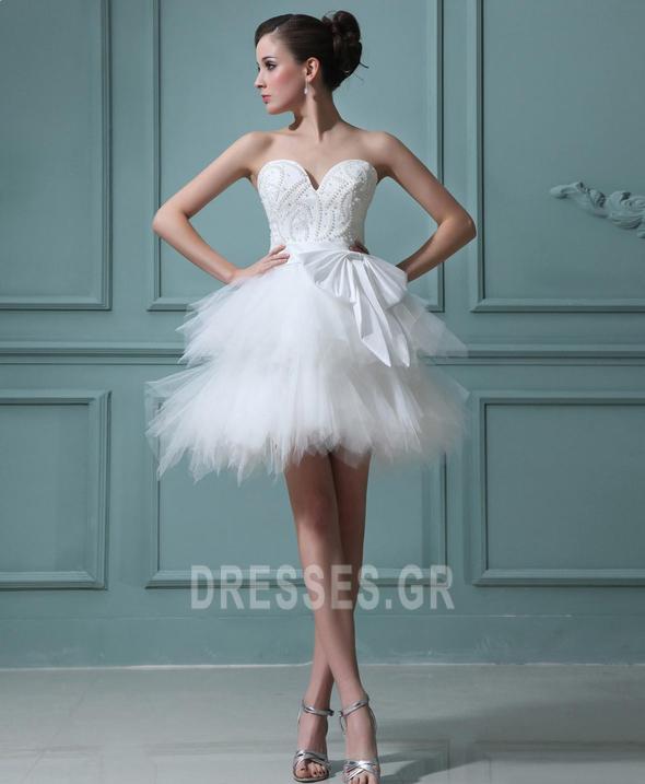 αγαπημένος Φυσικό Αμάνικο Μαργαριτάρια Καλοκαίρι Μπάλα φορέματα - Σελίδα 2