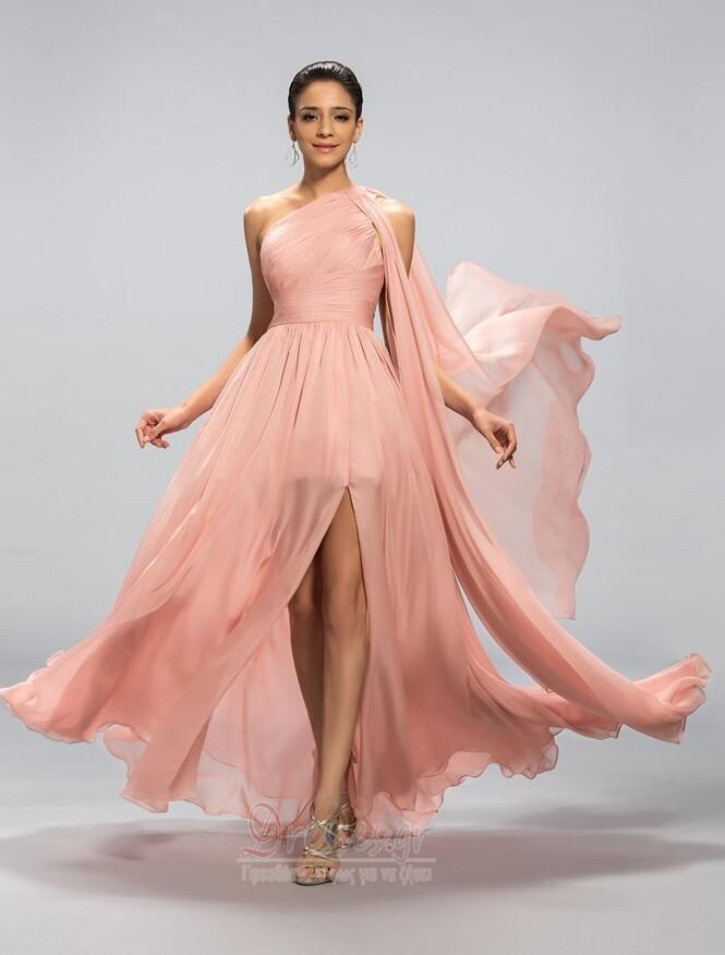 99da9d688346 Οι πτυχωμένες μπούστο εξώπλατο Ένας Ώμος Βραδινά φορέματα - Σελίδα 1 ...