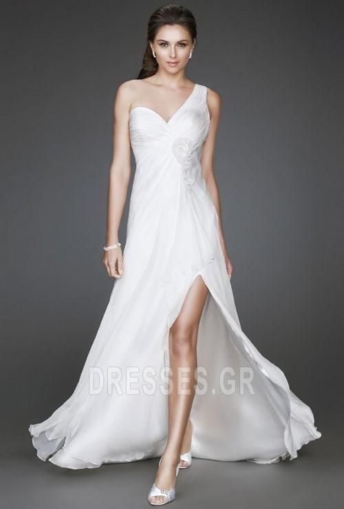 1ccbe92e0031 Άνοιξη Παραλία Λευκό Οι πτυχωμένες μπούστο Βραδινά φορέματα - Σελίδα 1 ...