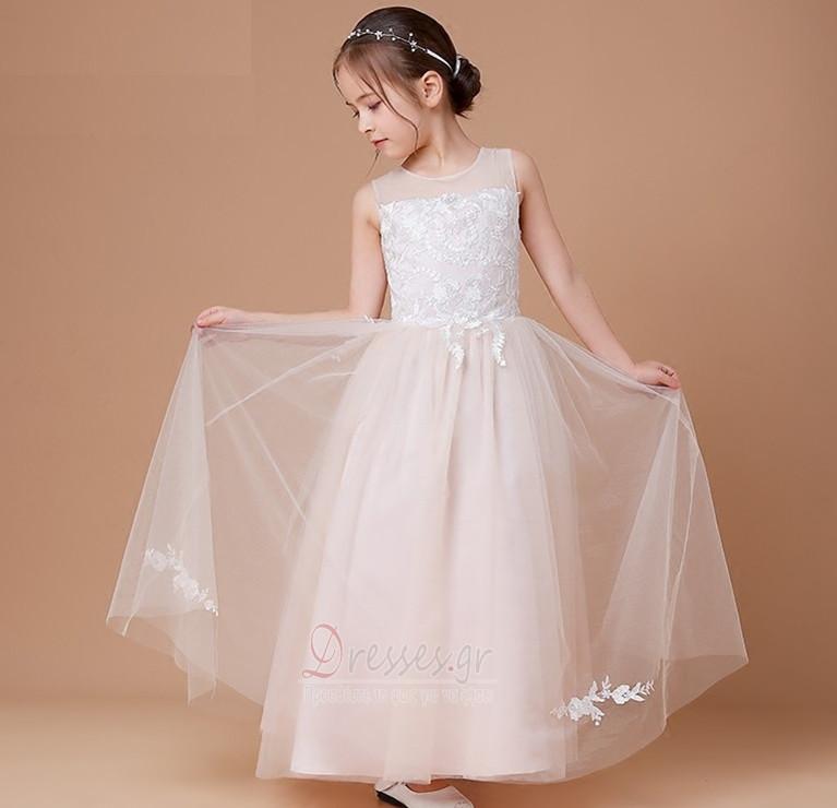 6595eadcbdec Φυσικό Φθινόπωρο Δαντέλα-επάνω Επίσημη Αμάνικο Λουλούδι κορίτσι φορέματα -  Σελίδα 1 ...