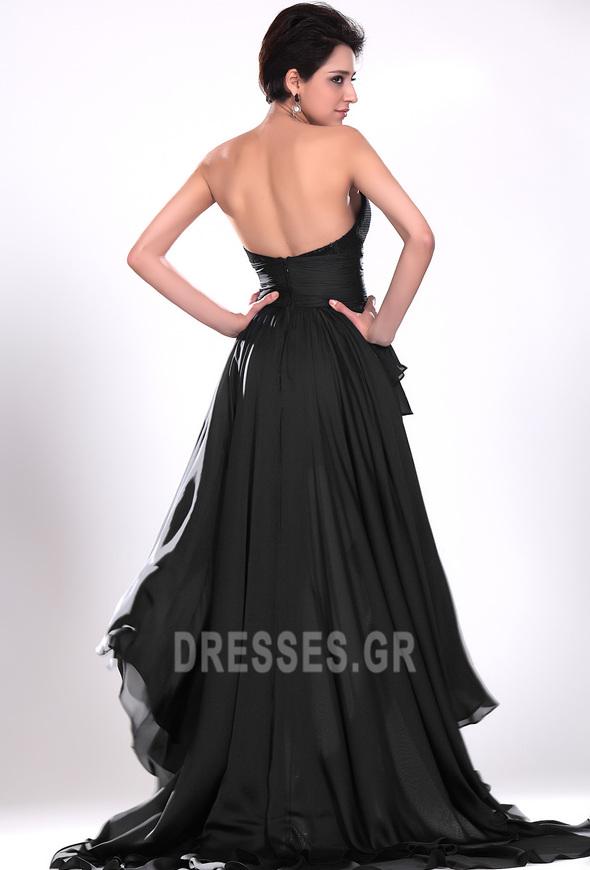 Σιφόν Μαύρο φύλλο Φυσικό Φερμουάρ επάνω σύγχρονος Κοκτέιλ φορέματα - Σελίδα 5