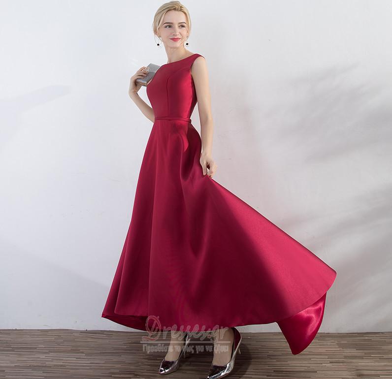 162ac390cde3 ... Αμάνικο Κομψό Άνοιξη Φυσικό Σατέν Ντραπέ Βραδινά φορέματα - Σελίδα 4