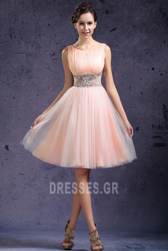 7111bb1fb9cb Μέχρι το Γόνατο Αμάνικο Ντραπέ Καλοκαίρι Μπάλα φορέματα - Σελίδα 1 ...