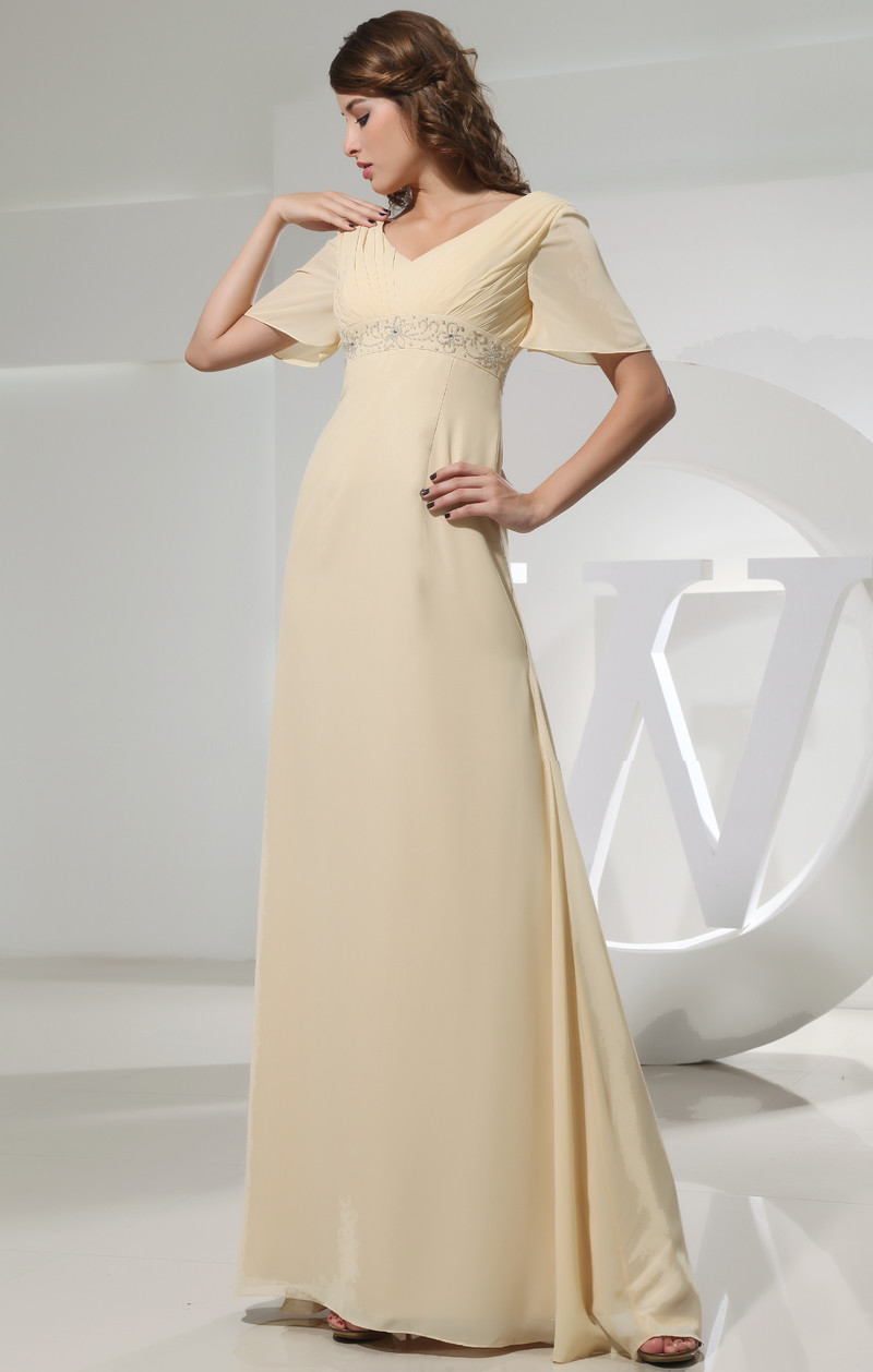 540ebc346137 Πλισέ Διακοσμημένες με χάντρες ζώνη Σιφόν Βραδινά φορέματα - Σελίδα 1 ...