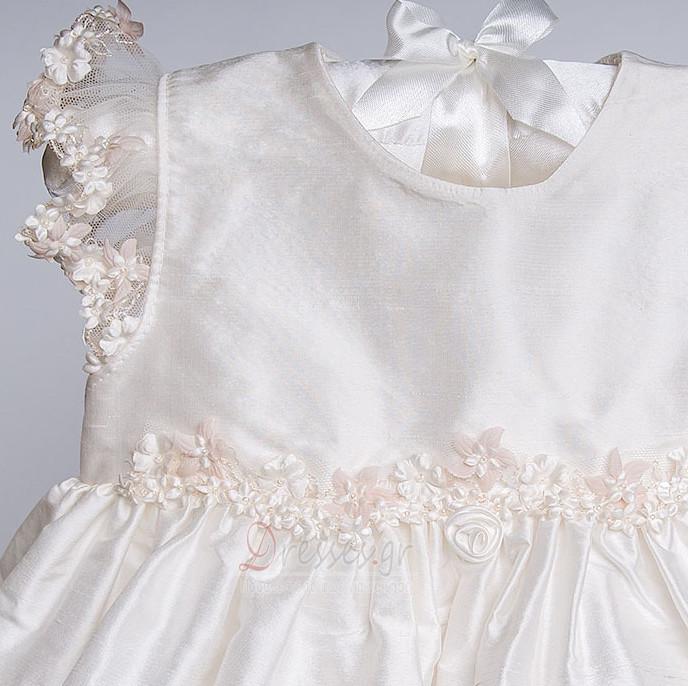 9d970b41b37 ... Πριγκίπισσα Σατέν Διακοσμητικά Επιράμματα Φόρεμα Βάπτισης - Σελίδα 5