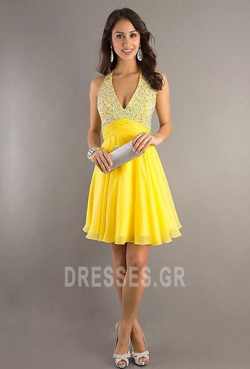 Κόσμημα τονισμένο μπούστο Βαθιά v-λαιμός Μπάλα φορέματα - Σελίδα 3