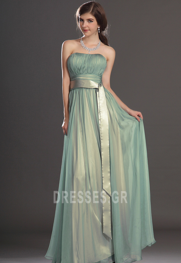 412b5f0842dd Φερμουάρ επάνω Κορδέλες Κομψό Άνοιξη Σιφόν Βραδινά φορέματα - Σελίδα 1 ...
