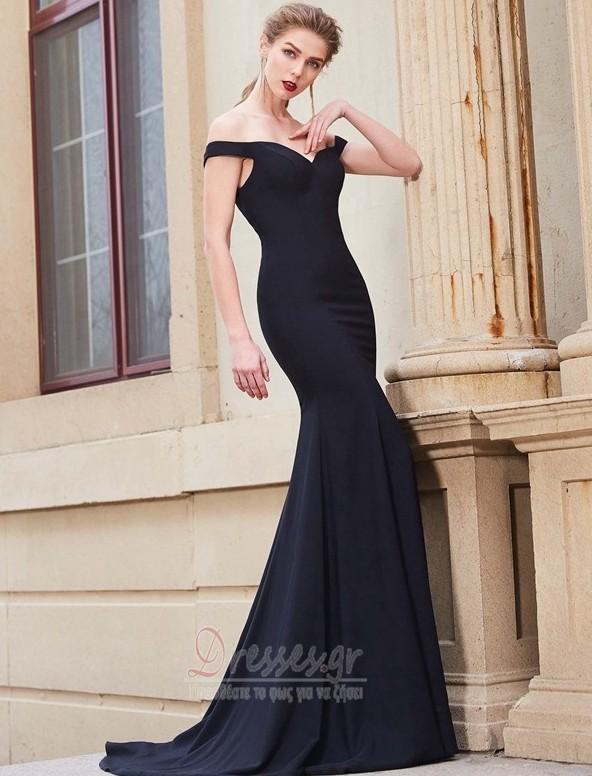 3ba7f97801ab Από τον ώμο Γοργόνα Ντραπέ Φερμουάρ επάνω Βραδινά φορέματα - Σελίδα 1 ...