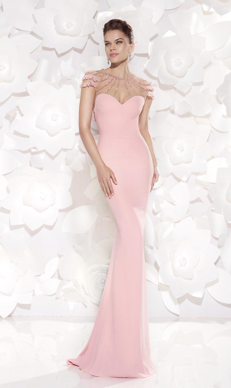 889f844a5676 Προσαρμοσμένες μανίκια Χάντρες Θήκη Δεν μέση Βραδινά φορέματα - Σελίδα 1 ...
