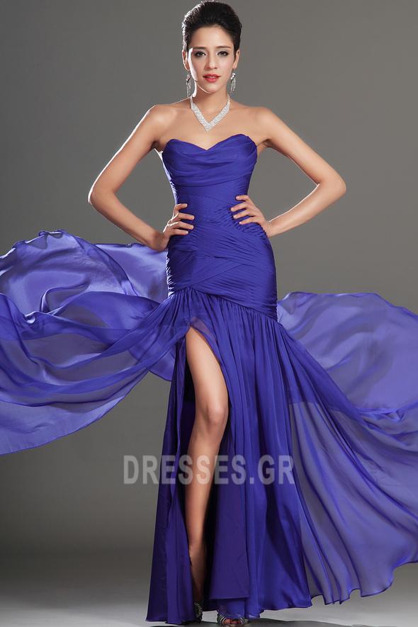 Αμάνικο Γοργόνα αγαπημένος πλέγμα ύφασμα Μπάλα φορέματα - Σελίδα 3