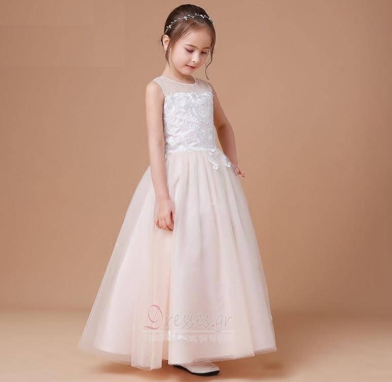 e4d385d04d1b ... Φυσικό Φθινόπωρο Δαντέλα-επάνω Επίσημη Αμάνικο Λουλούδι κορίτσι φορέματα  - Σελίδα 4