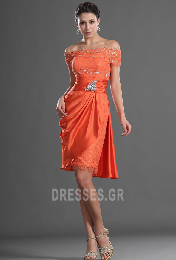 Μέχρι το Γόνατο Γραμμή Α Τα μέσα πλάτη Αποκλειστική Κοκτέιλ φορέματα - Σελίδα 1